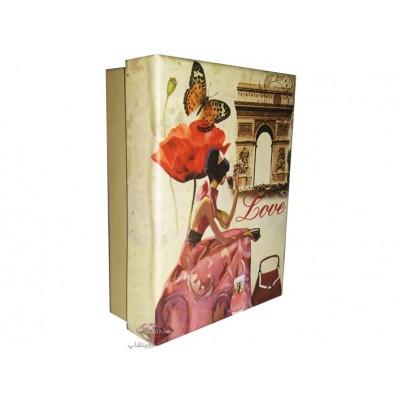 جعبه هدیه کوچک عاشقانه