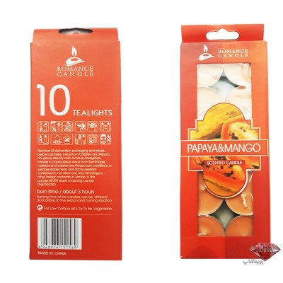 شمع وارمر 10 عددی با رایحه میوه های مختلف