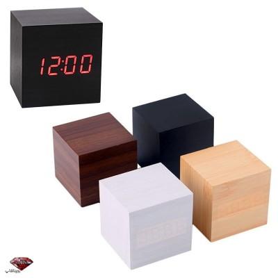 ساعت هوشمند طرح چوب مکعب