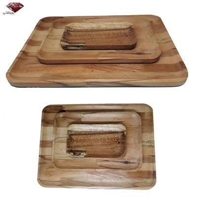 دیس و ظرف پذیرایی چوبی